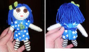 Coraline Stuffie by supermutts