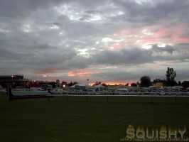Sun Set, Cheltham Racecourse by squishy2004