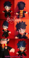 Harry Potter plush version by Momoiro-Botan