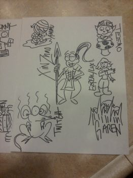 LoL scribbles P3 by Myssiing