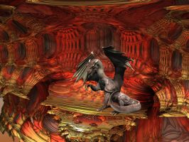 The Dragons Lair by stebev