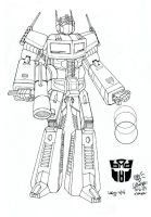Transformers in Sketch by Estheryu