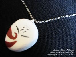 Haku Mask Charm by shadowqueen16