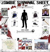 Zombie Survival Sheet by tyranno-tycoon