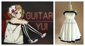 Guitar Yui cosplay costume by Mcosplay