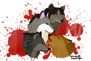 Contest Entry: The Bloody Moon Pack by DansuDragon