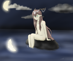 Girl by the water by Tenshin4ever