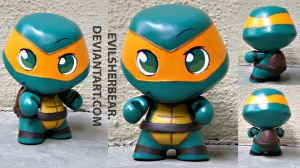 Mini Munny Mikey by evilsherbear