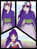 Ash into purple girl page 4 by TheDarkShadow1990