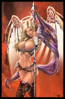 Joan Of Arc Cover Naughty Colors by nahp75