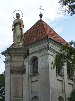a statue and a tower by ShVagYeR