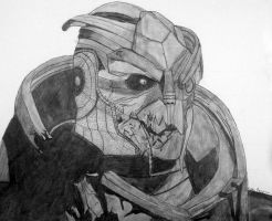 Mass Effect 2 Garrus Vakarian by edude69