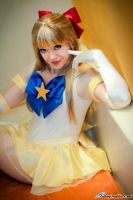 Sailor Venus with Dark Eyes by HollyGloha
