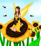 Sunflower Faery by mistycat85
