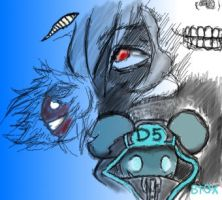 Deadmau5 Doodle by xombiethewhimsical