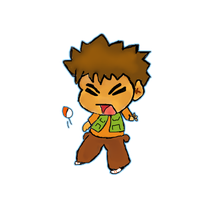 Brock Chibi by Erladino