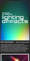 Lighting Effects Photoshop by ardcor