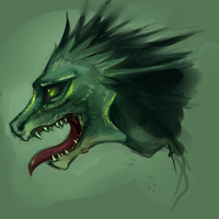 dragon speedpaint by DragonsDwelling
