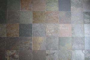slate tile wall by beckas