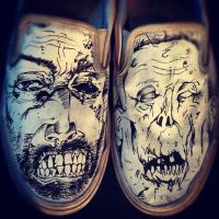 Zombie Shoes by Kyg0n