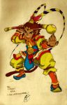Monkey Deities: Sun Wukong by Paperfiasco