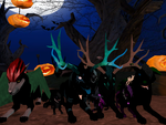 The Kreptic Circle Halloween Party 2016 by Kouvinxx