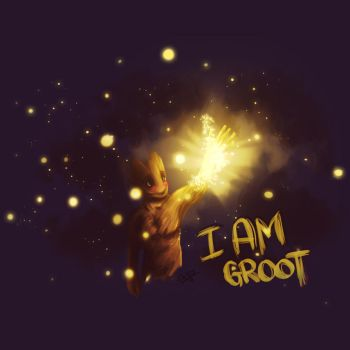 I AM GROOT! by Ena-the-original