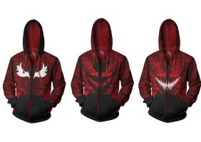 Carnage Hoodies by prathik