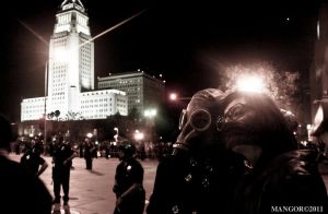 Occupy LA .03 by Lady-of-Slaughter