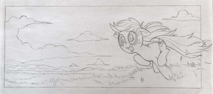 Applejack Loves to Run by RedApropos