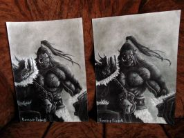 Grommash Hellscream x2 by live-your-dreamss