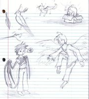 Some kind of Sketchdump by Ms-Silver