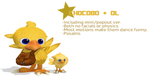 Chocobo + DL by MMDipede