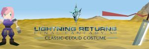 Lightning Returns FF13: Classic Cloud Costume by FrootsyCollins