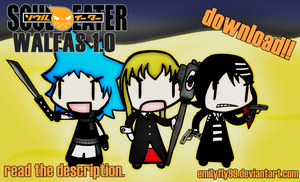 Soul Eater Walfas 1.0. Download by Emilyfly99