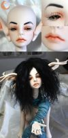 BJD Face Up - Dollzone Gretta by Izabeth