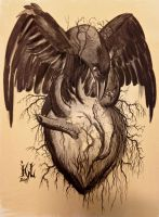 Crow Heart by ChristianSocha