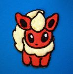 Flareon Pokedoll Patch by TheHarley
