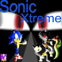 Sonic Xtreme page by speediothehedgehog