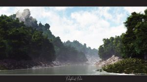 Rainforest River by oo0d3v1l0oo