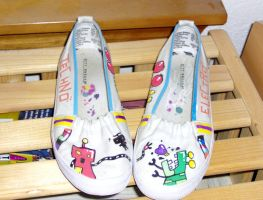 Techno Electro Shoes by The-Tall-Midget