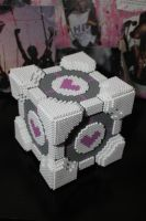 Companion Cube Care Package 3 by NotThatJesus