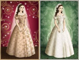 Wedding dresses by Arrelline