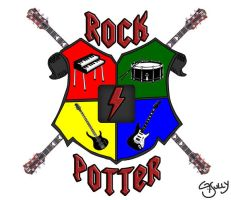 Rock Potter Logo by G-Sully