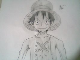 Monkey D. luffy by itzia-kun