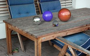 Table and Spheres by kuzy62
