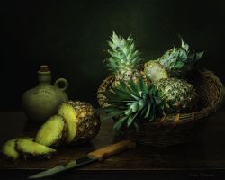 From the series with pineapples by Daykiney