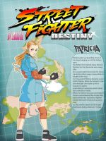Street Fighter Destiny: Patricia by rgm501