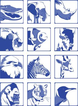 Zoo Pictograms by garciagirl