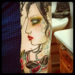 Sleeve progression - colour. by Miss-Reptilian
